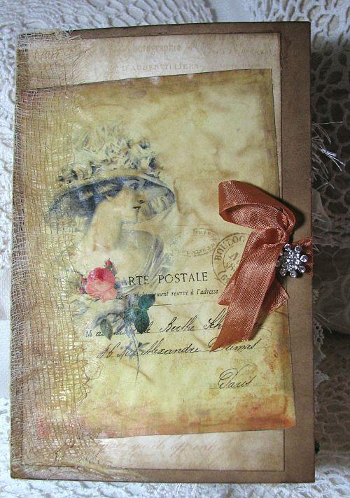 Handmade Junk Journal-junk journal, handmade journal, handmade book, handmade diary, notebook, paper, scrap booking paper, diary, keepsake book, journal