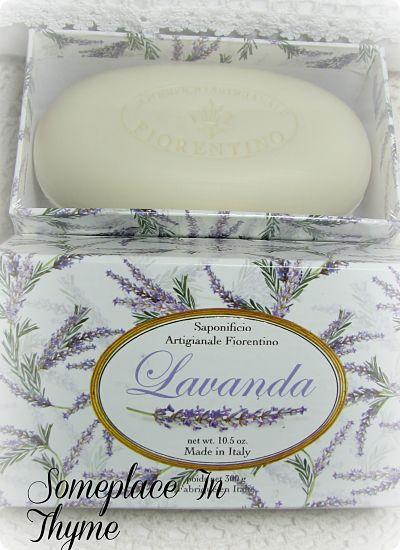 Lovely Bar Lavender Soap-soap,lavender,bath,gift,cottage,decor,decoration,shabby,gift,