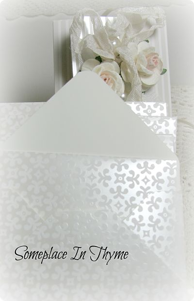 Perfect For A Bride Note Cards In A Box-cards,handmade,roses,paper,bride,gift,ribbon,notes,lace,