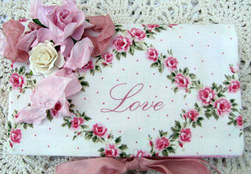 Love  Soap Pocket-roses,soap,handmade,gift,someplaceinthyme,paper,love,cottage,ribbon,homedecor,decoration